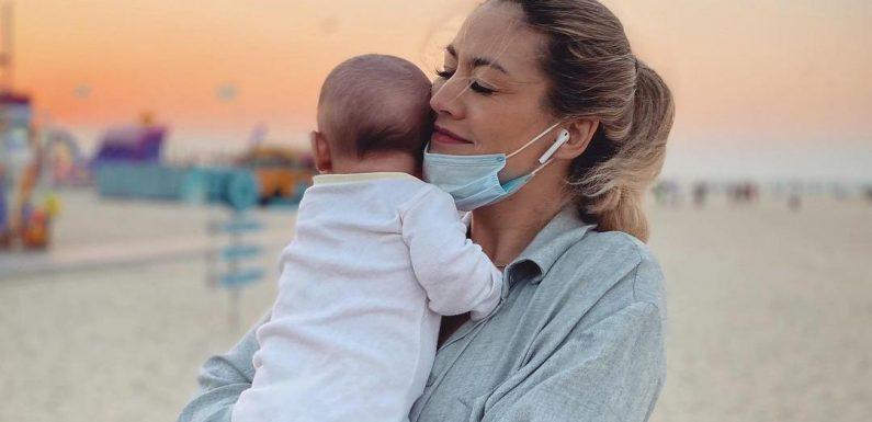 Ex-GNTM-Teilnehmerin Fiona Erdmann zeigt Sohn Leo (1) ihre Heimat