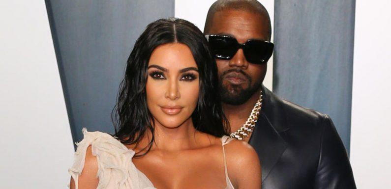 Kanye West behauptet: Er und Kim Kardashian sind wieder ein Paar