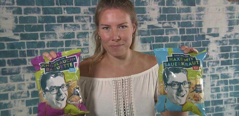Neue Chips-Sorten: Schweinshaxe mit Sauerkraut gibt's jetzt zum Knabbern