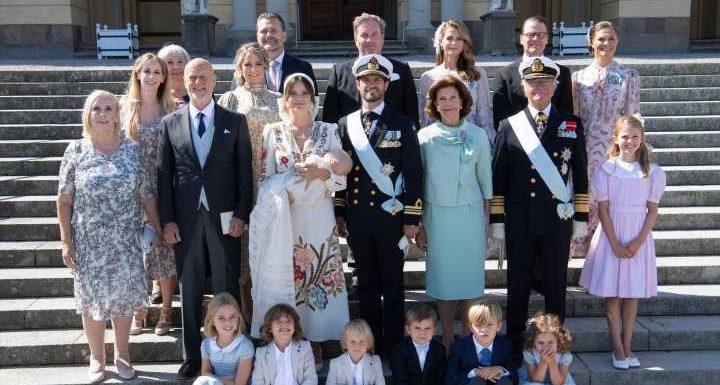 Schwedische Royals: Diese Gäste stachen bei Prinz Julians Taufe hervor
