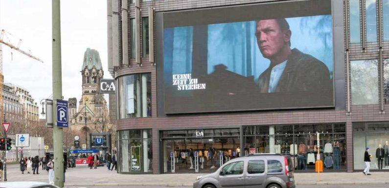 Weltpremiere für neuen James-Bond-Film im Herbst
