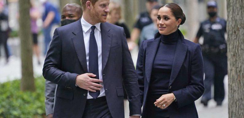 Ach wie schön! Prinz Harry's Laptoptasche hat eine ganz besondere Gravur