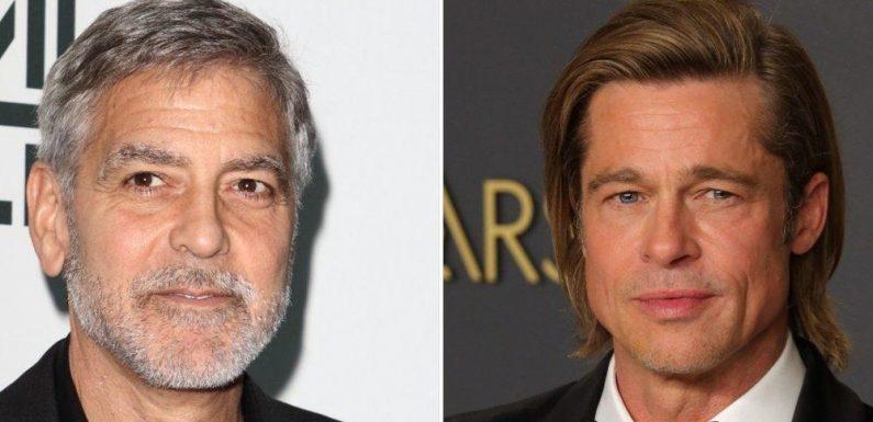 Apple schnappt sich Thriller mit George Clooney und Brad Pitt