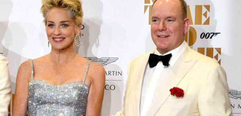 Bond-Premiere in Monaco: Albert strahlt neben Sharon Stone!