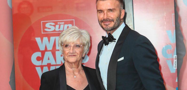 David Beckham beim süßen Rampenlicht-Date mit seiner Mama