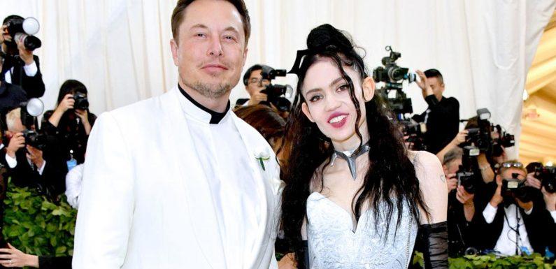 """Elon Musk: Er ist """"halb getrennt"""" von Freundin Grimes"""