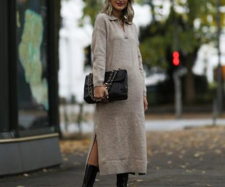 Herbst-Trend 2021: Dieses Strickkleid von H&M ist ein echtes Must-Have