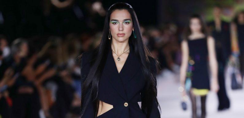 Mit Gigi Hadid und Co.: Dua Lipa gibt ihr Debüt als Model!