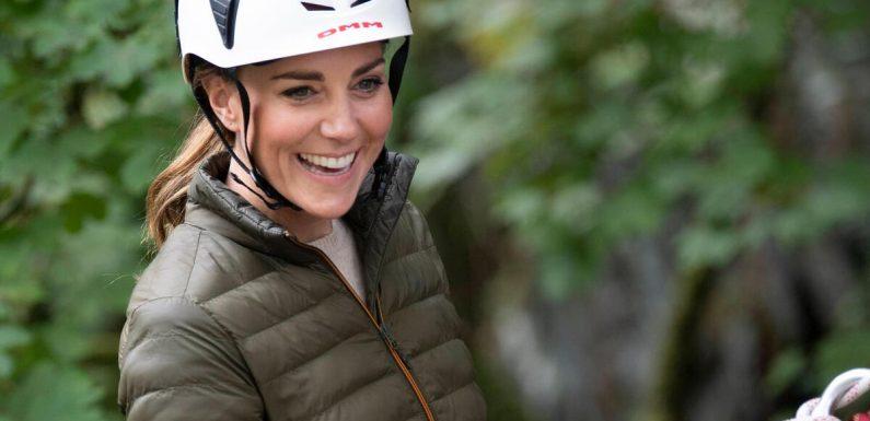 Mountainbiken und Klettern: Sportliche Herzogin Kate in ihrem Element