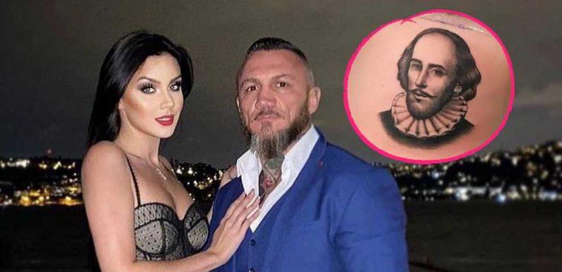Nicht von Timur: Nathalie Volk ließ sich Porträt stechen!