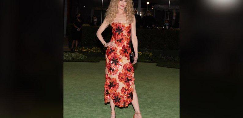 Nicole Kidman: Florales Traumkleid und wilde Lockenpracht