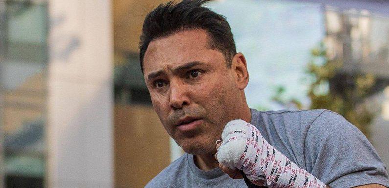 Oscar De La Hoya muss Comeback wegen Covid-Erkrankung absagen
