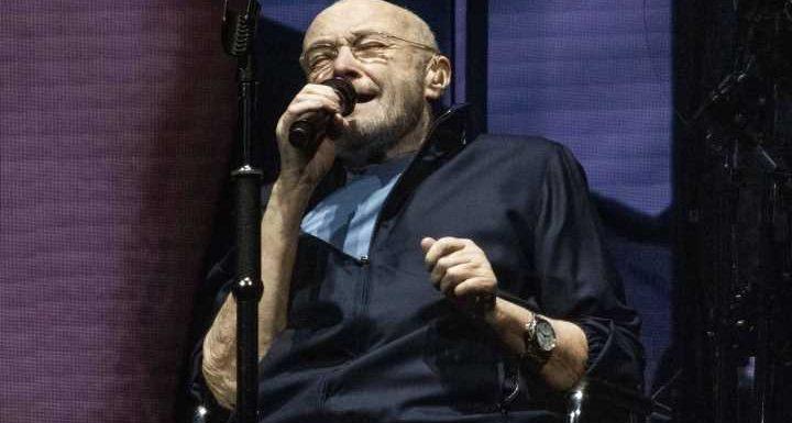 Phil Collins: Dieser Anblick schmerzt: Trauriger Tour-Auftakt im Sitzen