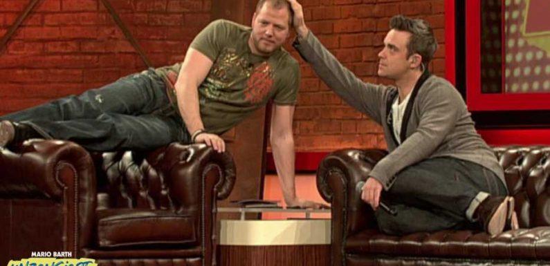 Robbie Williams hat Mario Barth seinen nackten Penis gezeigt