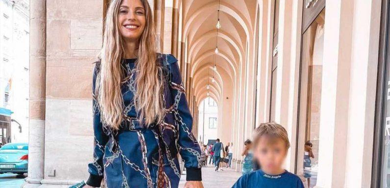 Shoppingfoto mit Ludwig: Cathy Hummels kassiert Shitstorm