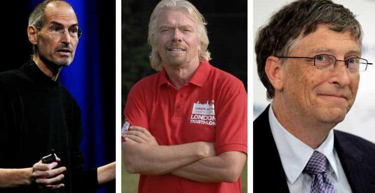 Steve Jobs, Richard Branson, Bill Gates und Co.: Diese Promis leiden an Legasthenie