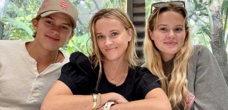 Stolze Mutter: So ähnlich sieht Reese Witherspoon ihren Kids