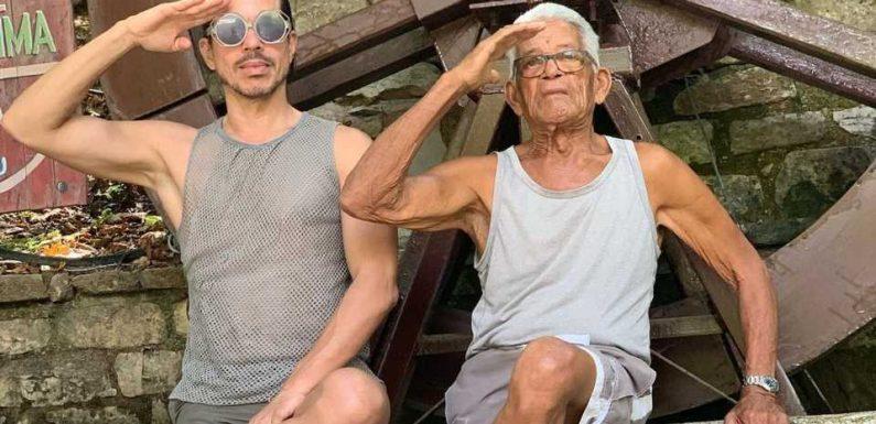 Trauriger Rückblick: Jorge meldet sich zum Tod seines Papas