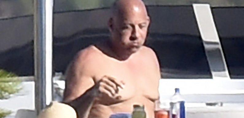 Vin Diesel genießt Familien-Urlaub in Italien – inklusive Wohlfühlbäuchlein