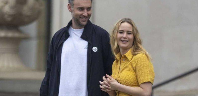 Von ihrem Mann Cooke: Jennifer Lawrence erwartet erstes Baby
