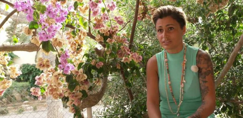 Witwe Jasmin Herren hat nach der Trauerphase wieder angefangen, zu leben