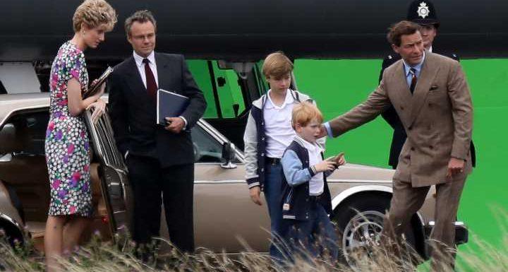 """""""The Crown"""": SO sehen Harry und William in der fünften Staffel aus"""