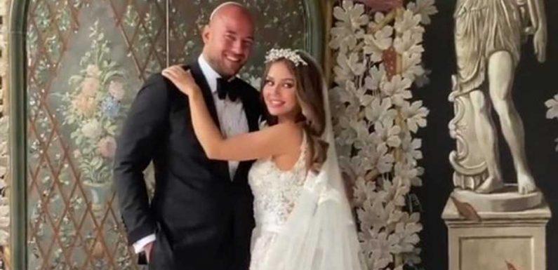 """""""Wie frisch verliebt"""": So geht es Kim Gloss nach Hochzeit"""