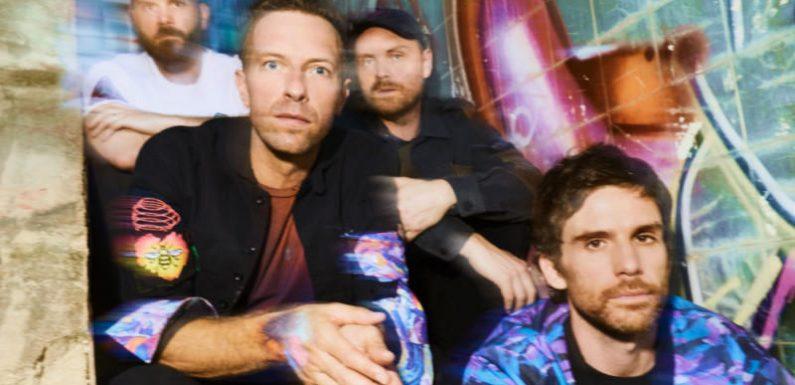 "Coldplay kündigen immersives ""audiovisuelles Event"" mit Amazon Music an"