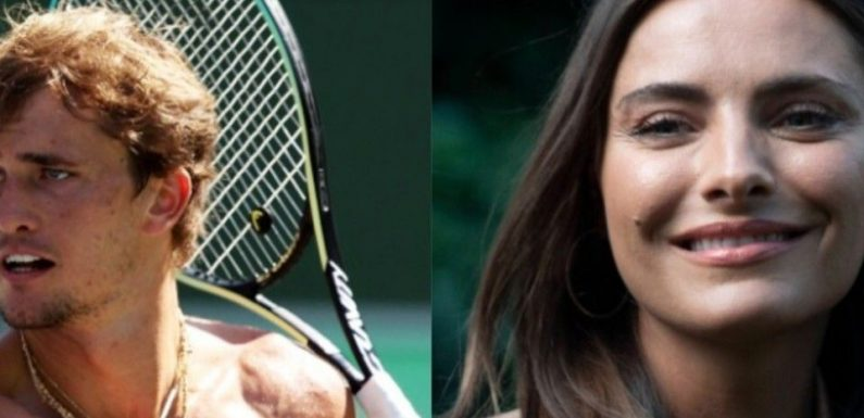 Gerüchte: Sophia Thomalla und Tennis-Olympiasieger Alexander Zverev ein Paar