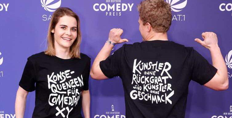 Hazel Brugger: Was hinter der T-Shirt-Aktion beim Comedypreis steckt