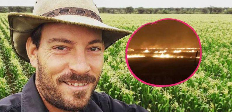 Heftige Brände: Bauer Geralds Farm blieb nur knapp verschont
