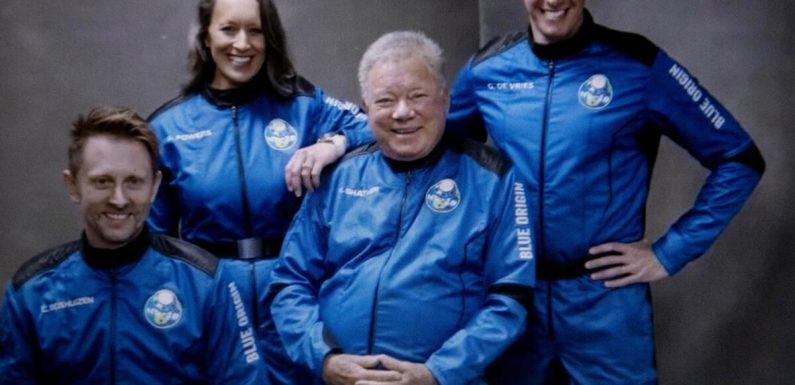 """Nach All-Ausflug:""""Star Trek""""-Ikone Shatner wieder gelandet"""
