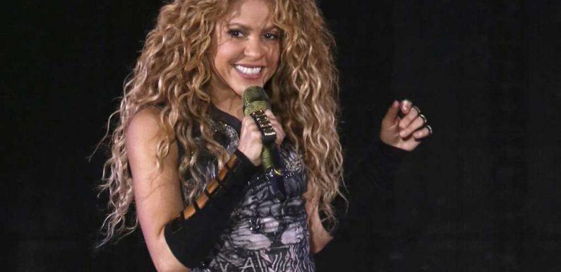 Popstar Shakira in Barcelona von Wildschwein attackiert