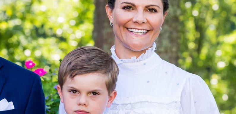 """Prinzessin Victoria über Sohn Oscar: """"Er hält uns die ganze Zeit auf Trab!"""""""
