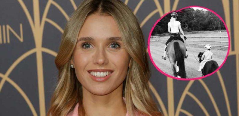 Scarlett Gartmann teilt seltene Aufnahme mit ihrer Tochter