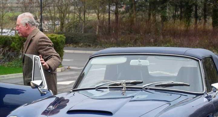 Sein Aston Martin fährt mit Weißwein