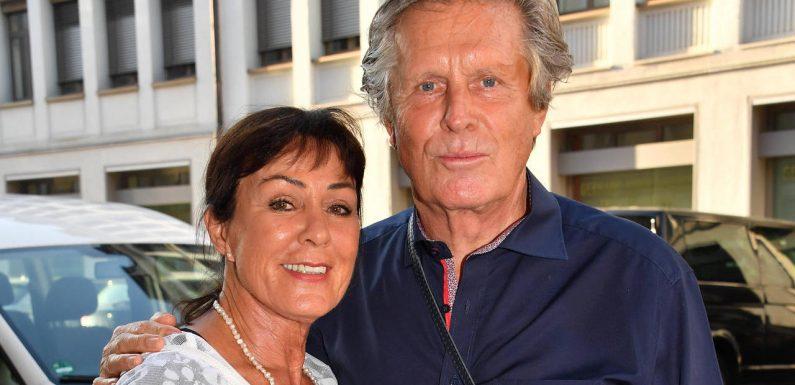 Sigmar Solbach wünscht sich eine schöne Zeit mit seiner Frau
