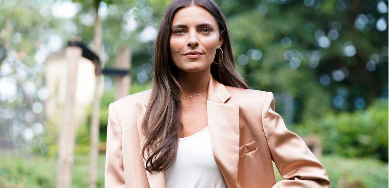 Sophia Thomalla: Sexy! Im Wet-Look heizt sie ihren Fans ein