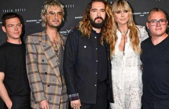 Stylischer Auftritt mit Tokio Hotel