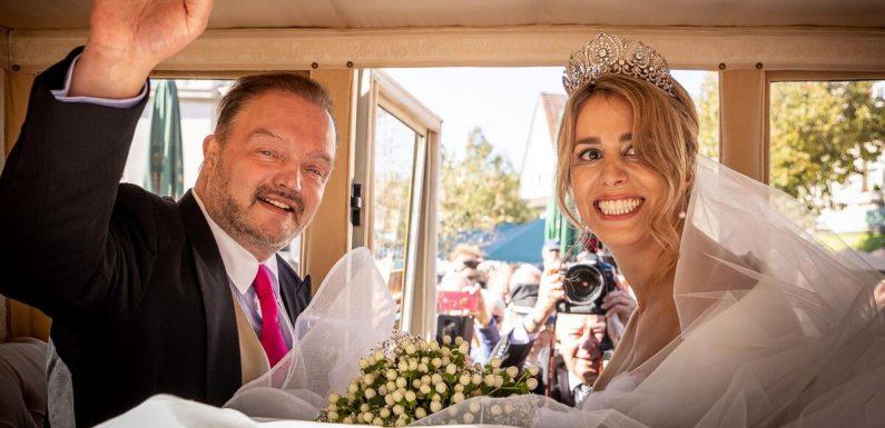 Traumwetter bei Hochzeit von Alexander zu Schaumburg-Lippe