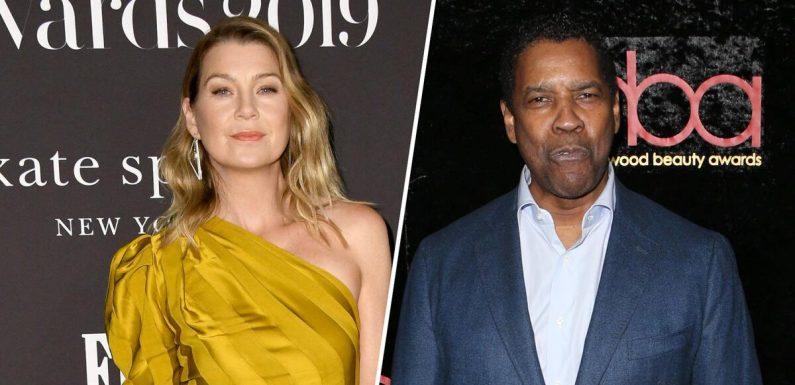 """Zoff bei """"Grey's Anatomy"""": Darum hatte Ellen Pompeo Streit mit Denzel Washington"""